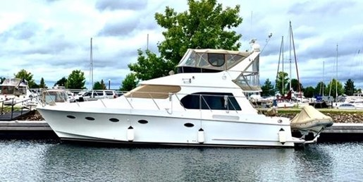 2006 Ocean Alexander boat for sale, model of the boat is 45 Sedan & Image # 1 of 26