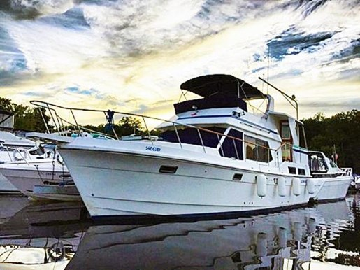 1987 OCEANIA 40 AFT CABIN for sale