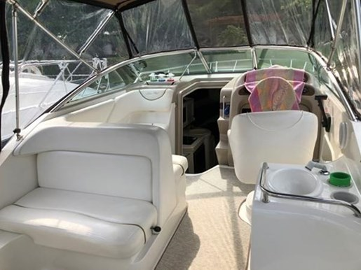 2000 Sea Ray boat for sale, model of the boat is Sundancer 260 & Image # 3 of 8