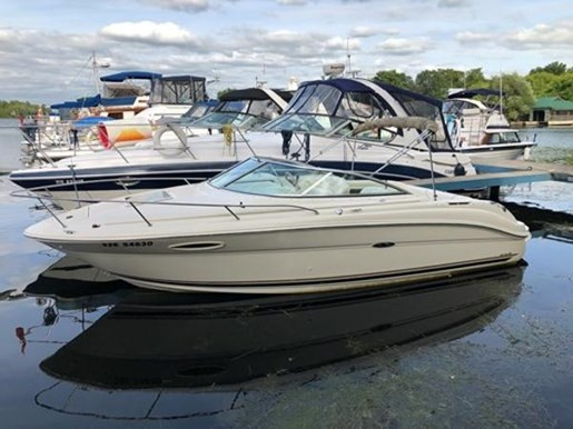 2001 Sea Ray boat for sale, model of the boat is 225 Weekender & Image # 1 of 9