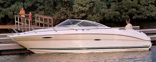 2001 Sea Ray boat for sale, model of the boat is 225 Weekender & Image # 9 of 9