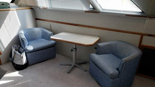 1991 Sea Ray boat for sale, model of the boat is 380 Aft MY & Image # 8 of 19