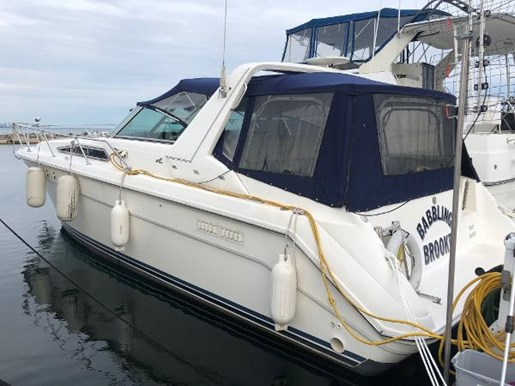 1990 Sea Ray boat for sale, model of the boat is 350 Sundancer & Image # 1 of 11