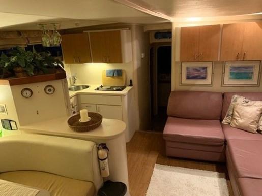 1995 Mainship boat for sale, model of the boat is 40 Sedan Bridge & Image # 18 of 27