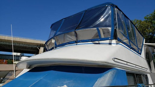 1994 Carver boat for sale, model of the boat is 370 Aft F/B & Image # 3 of 22