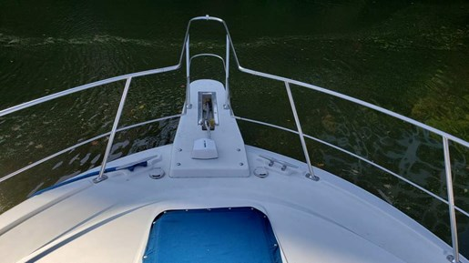 1994 Carver boat for sale, model of the boat is 370 Aft F/B & Image # 4 of 22