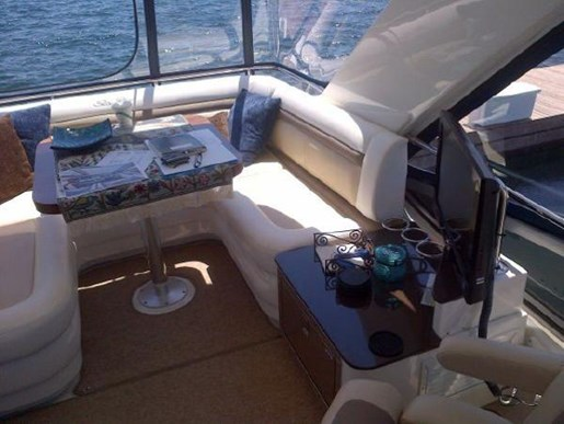 2012 Sea Ray boat for sale, model of the boat is 450 Sedan Bridge & Image # 3 of 10