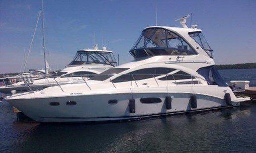 2012 Sea Ray boat for sale, model of the boat is 450 Sedan Bridge & Image # 1 of 10