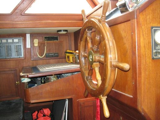 1984 Corbin boat for sale, model of the boat is 39 Aft Cockpit & Image # 5 of 16