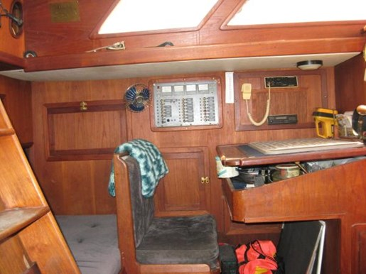 1984 Corbin boat for sale, model of the boat is 39 Aft Cockpit & Image # 11 of 16
