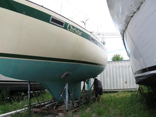 1984 Corbin boat for sale, model of the boat is 39 Aft Cockpit & Image # 14 of 16