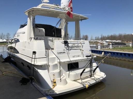 2002 Carver boat for sale, model of the boat is 396 Motor Yacht & Image # 23 of 26