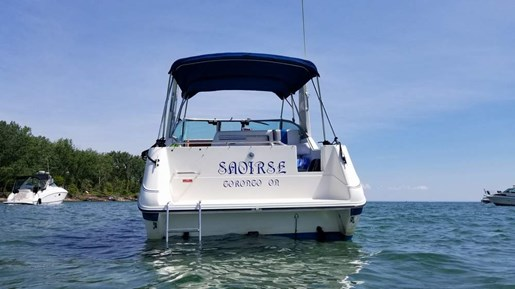 1990 Sea Ray boat for sale, model of the boat is 270 Sundancer MC & Image # 3 of 13