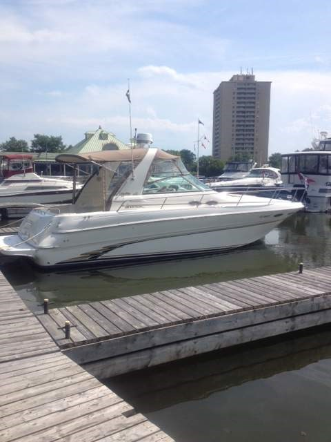 1999 Sea Ray boat for sale, model of the boat is 310 Sundancer & Image # 2 of 15