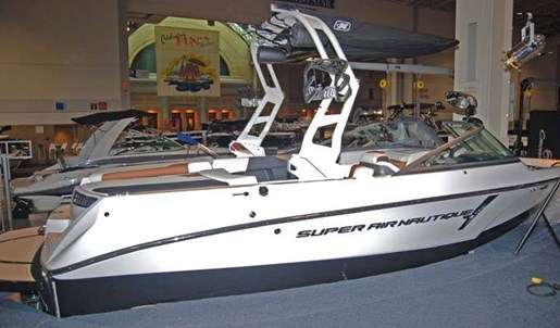 2020 Nautique boat for sale, model of the boat is SUPER AIR 210 & Image # 1 of 3