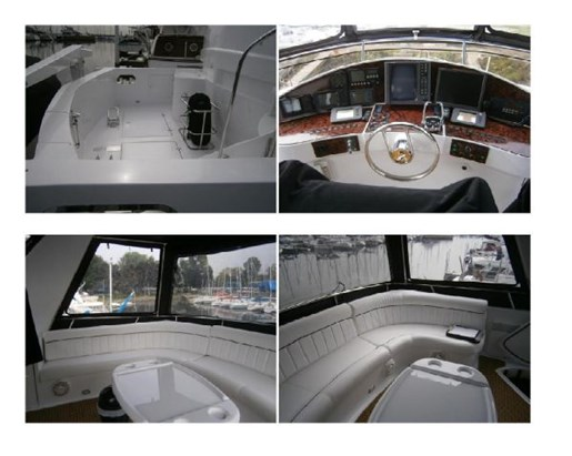 1973 Chris Craft boat for sale, model of the boat is 60 Sedan Fly & Image # 2 of 8