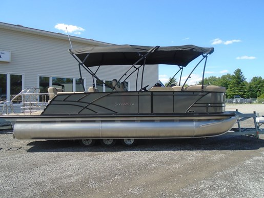 For Sale: 2021 Sylvan L3 Dlz Pr25 Tri-toon 23ft<br/>Pirate Cove Marina