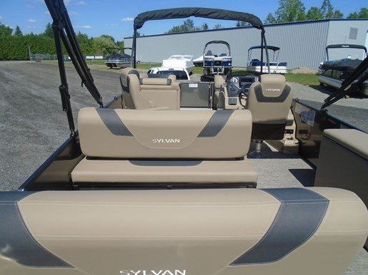 2021 Sylvan boat for sale, model of the boat is L3 DLZ PR25 Tri-Toon & Image # 2 of 4