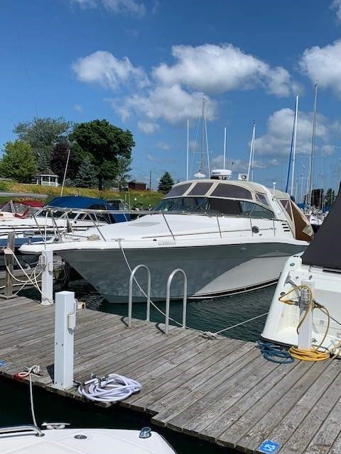 2001 Sea Ray 340 Amberjack For Sale