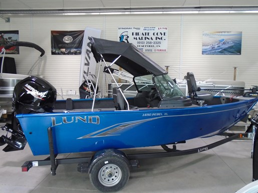 2021 Lund boat for sale, model of the boat is 1650 Rebel XL Sport & Image # 7 of 9