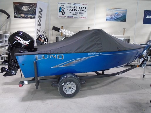 2021 Lund boat for sale, model of the boat is 1650 Rebel XL Sport & Image # 8 of 9