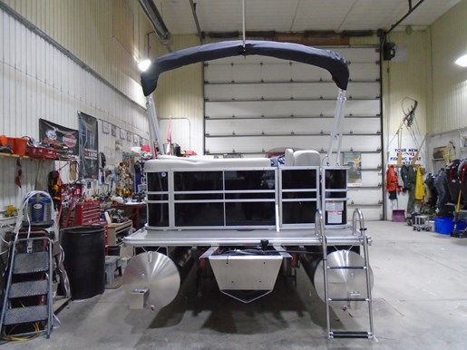 2021 Sylvan boat for sale, model of the boat is 818 Mirage Cruise & Image # 2 of 7
