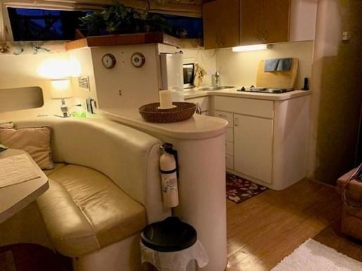 1995 Mainship boat for sale, model of the boat is 40 Sedan Bridge & Image # 10 of 15