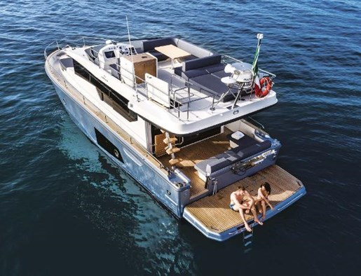 2021 Cranchi boat for sale, model of the boat is Eco Trawler 43 LD & Image # 6 of 29