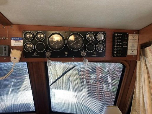 1988 Monk boat for sale, model of the boat is Trawler & Image # 6 of 9