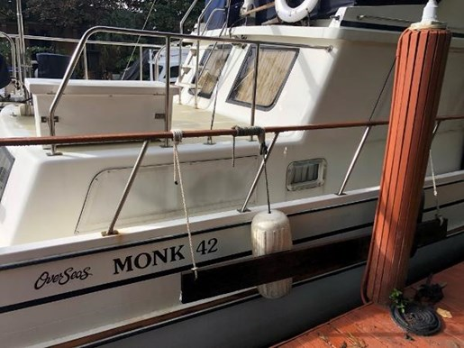 1988 Monk boat for sale, model of the boat is Trawler & Image # 9 of 9