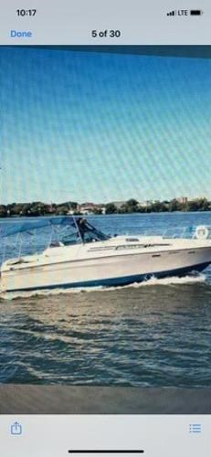 1979 Bayliner boat for sale, model of the boat is 32 Conquest & Image # 3 of 7