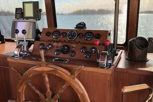 1980 Custom boat for sale, model of the boat is House Boat Cruiser & Image # 25 of 55