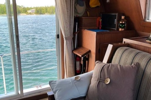 1980 Custom boat for sale, model of the boat is House Boat Cruiser & Image # 31 of 55