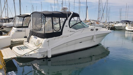 2008 Sea Ray boat for sale, model of the boat is 320 Sundancer & Image # 1 of 23