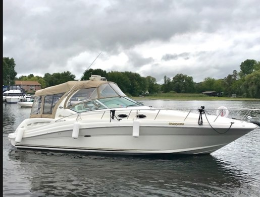 2003 Sea Ray boat for sale, model of the boat is 340 Sundancer & Image # 2 of 11