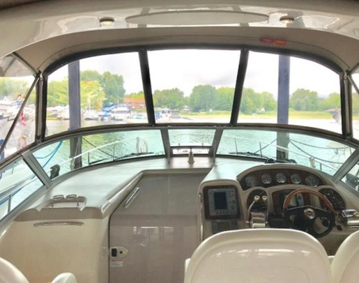 2003 Sea Ray boat for sale, model of the boat is 340 Sundancer & Image # 4 of 11