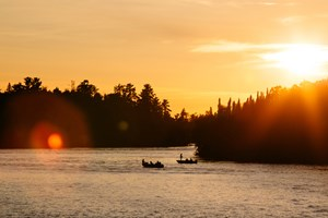 Best of Boating Ontario Kenora Sunset and Silhouette