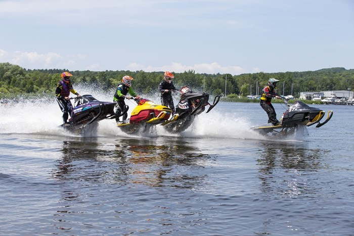 Best of Boating Ontario OWRA Snowmobiles on Water