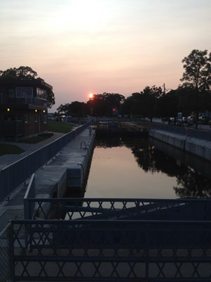 Locks Sunset