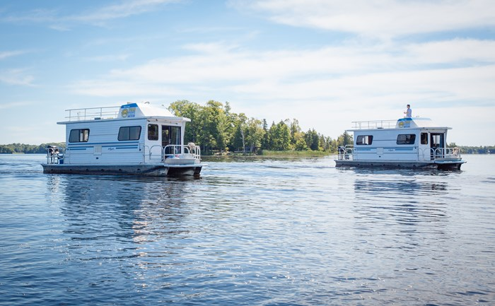 houseboats on the trent severn