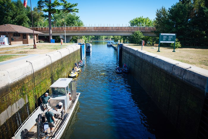 lockage permits trent severn boating