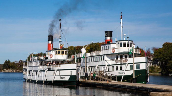 Steamships- via Discover Muskoka