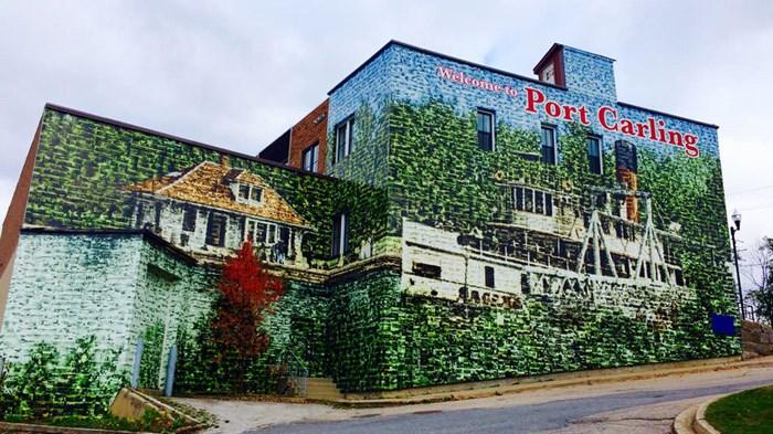 The Wall- via Muskoka Tourism