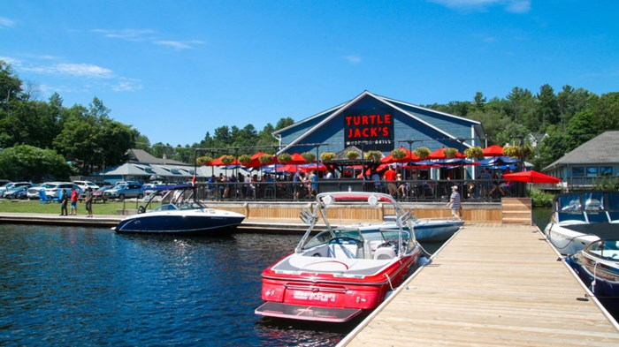 Turtle Jacks- via Muskoka Tourism