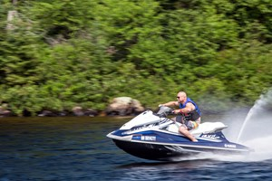 2016 Yamaha Waverunner VX Deluxe Review riding hard