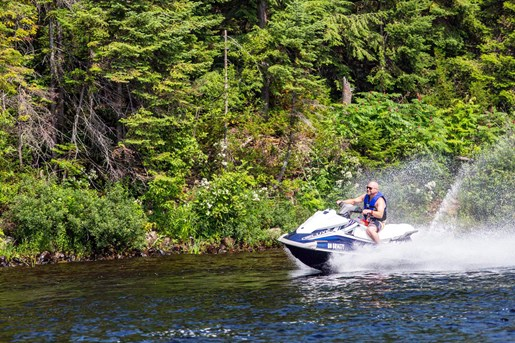 2016 Yamaha Waverunner VX Deluxe Review cruising