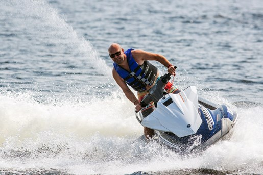 2016 Yamaha Waverunner VX Deluxe Review turning