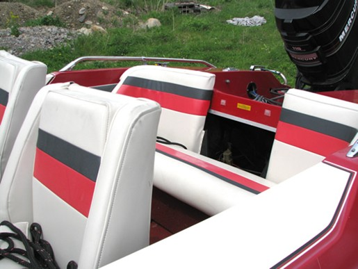 Nice When Transforming Your Boat, You Have The Option Of Changing Your Seats,  Interior Side Panels, Dash, Boat Motor Cover And Carpets.