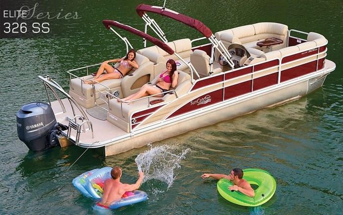 g3 suncatcher elite 326 on water