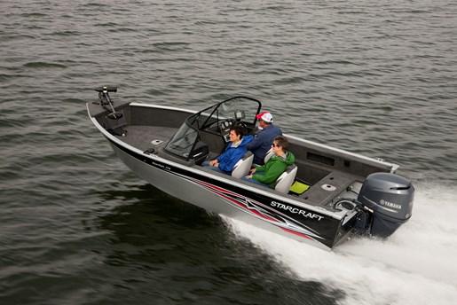 2014 starcraft starfish 176 aluminum fishing boat review for Starcraft fishing boats